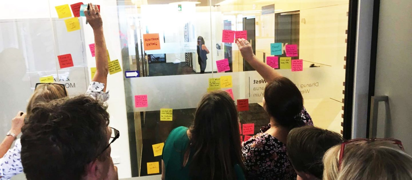 NSW team of government employees radically designing creative ideas for building capabilities in NGOs