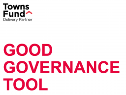 Text on a while background reads 'Good Governance Tool'.
